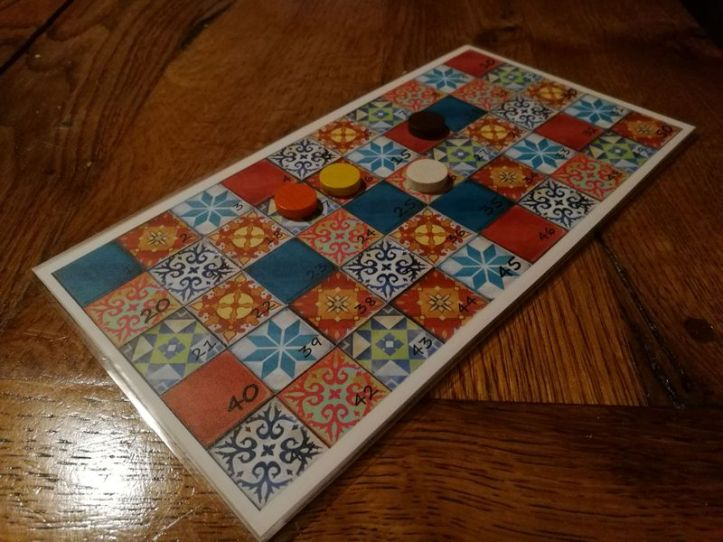 Idéias e acessórios jogo de tabuleiro AZUL