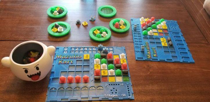 Idéias e acessórios para o jogo de tabuleiro AZUL