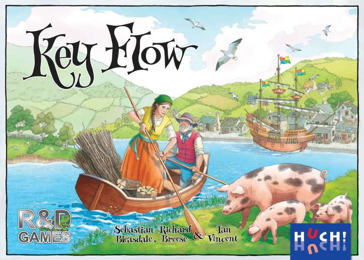 Key Flow, a versão de cartas do Keyflower