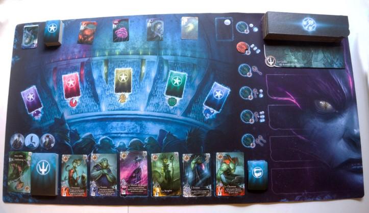 Playmate para jogo de tabuleiro Abyss