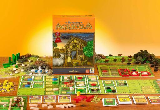 Jogo de tabuleiro Agricola