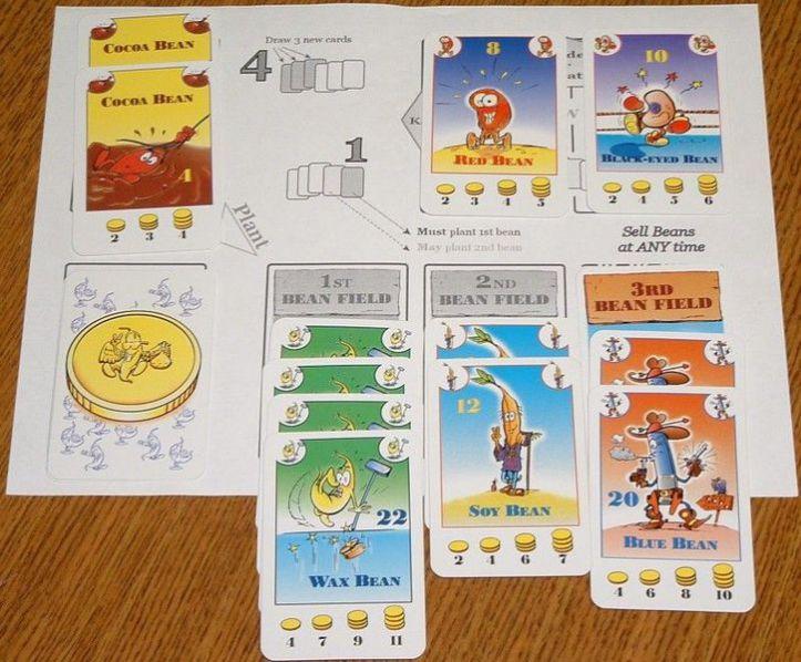 Playmate para jogo de tabuleiro Bohnanza