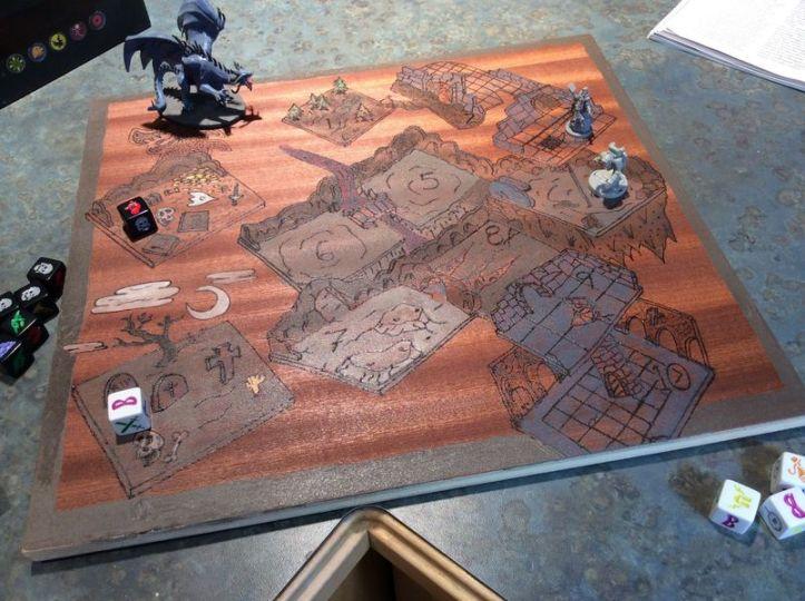 Playmate jogo de tabuleiro Dungeon Roll