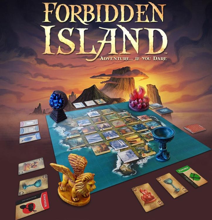 Jogo de tabuleiro cooperativo A Ilha Proibida