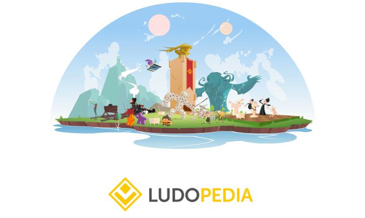 O maior portal de jogos de tabuleiro em português, a Ludopedia