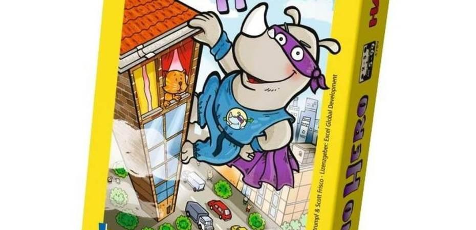 Construa o prédio e escale alto em Rhino Hero