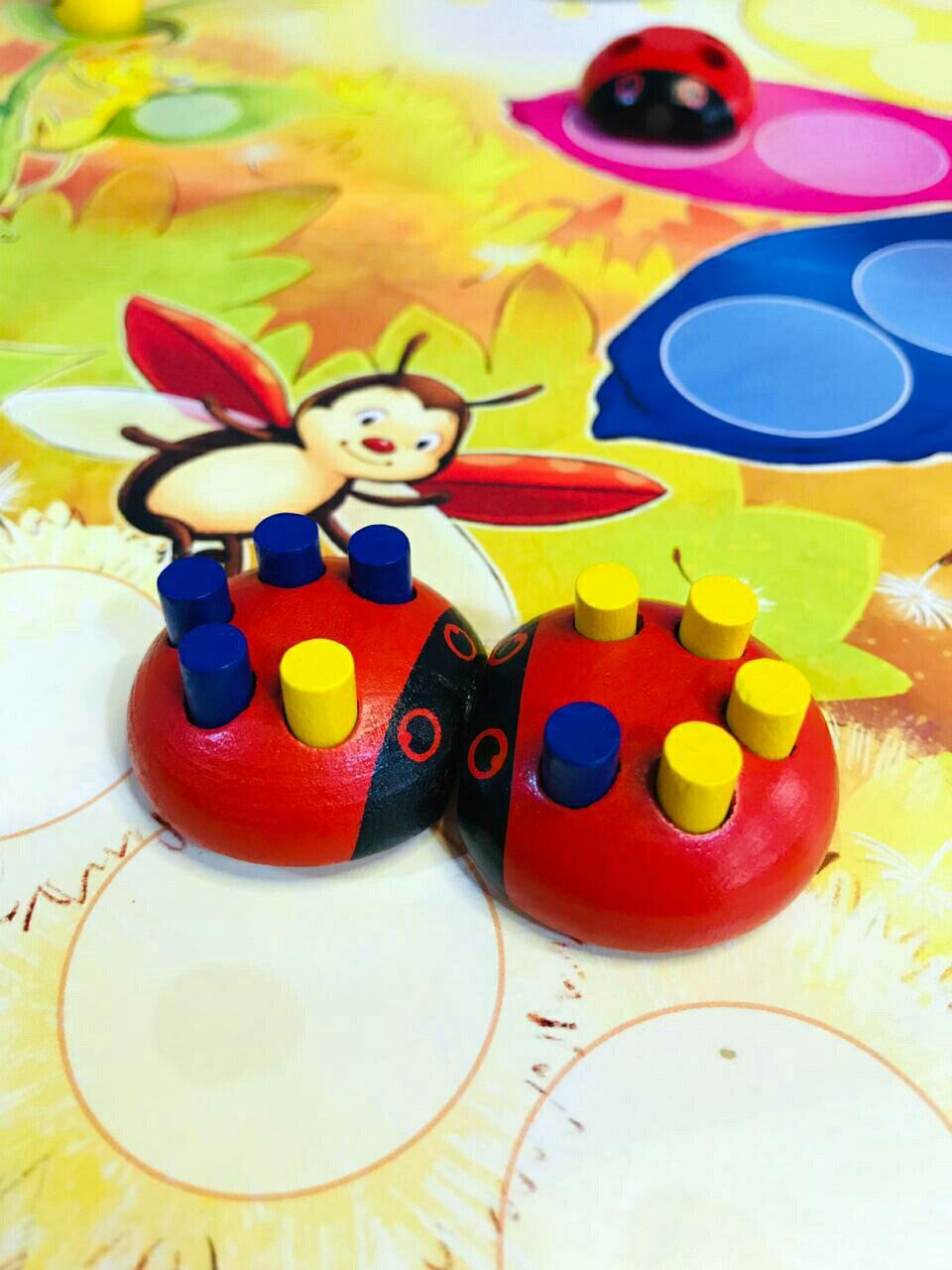 Jogo de tabuleiro The Ladybug Costume Party