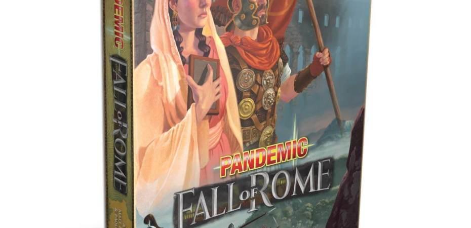 Pandemic recebe mais uma versão Pandemic Fall of Rome