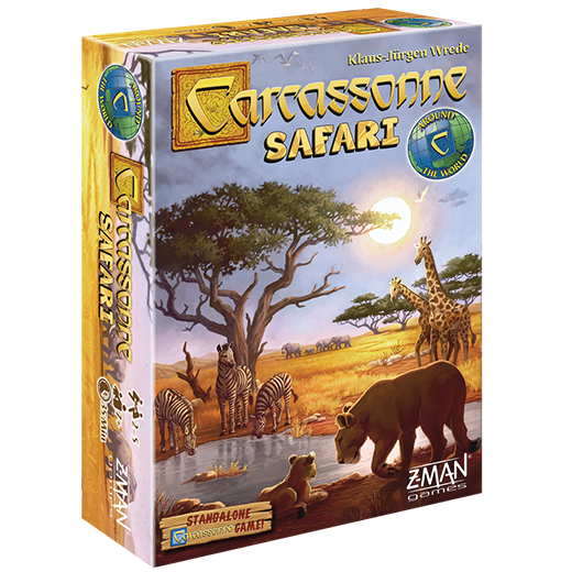 Carcassonne-Safari
