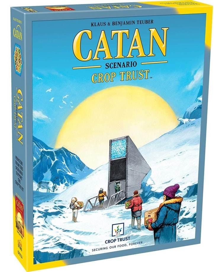 Catan recebe um cenário semi cooperativo, CATAN Crop Trust