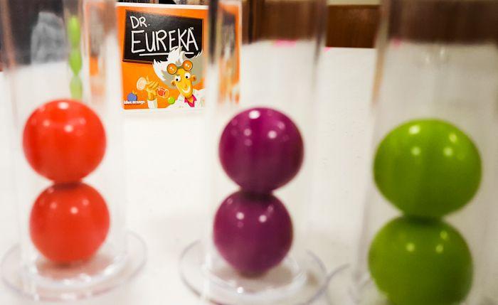 Jogo de tabuleiro Dr. Eureka