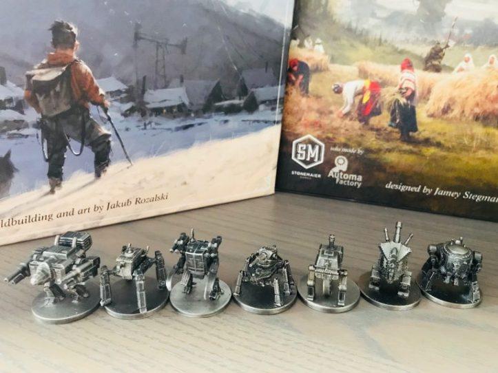 Minis metal Scythe