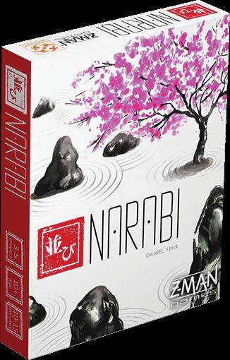 Jogo de tabuleiro Narabi