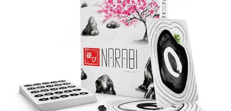 Um jogo cooperativo Narabi vem pela Z-Man Games