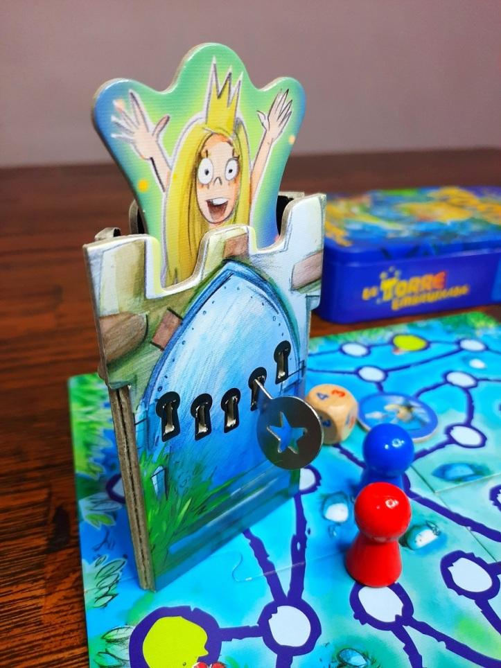 Jogo de tabuleiro A Torre Encantada