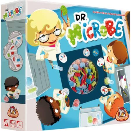 Jogo de tabuleiro infantil Dr Microbe