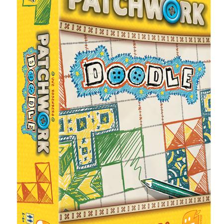 Jogo de tabuleiro Patchwork Doodle