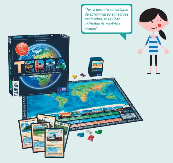 Componentes Jogo de tabuleiro Terra
