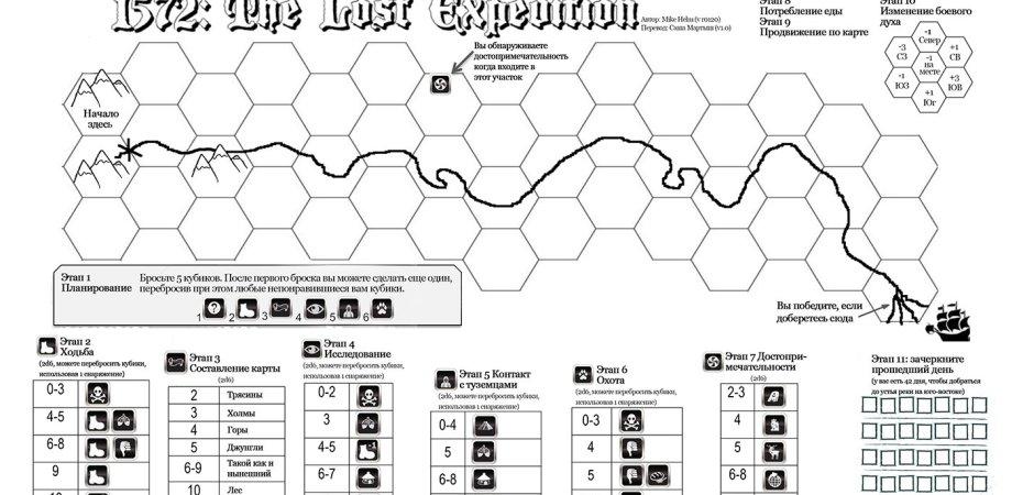 Explore o desconhecido em 1572 The Lost Expedition