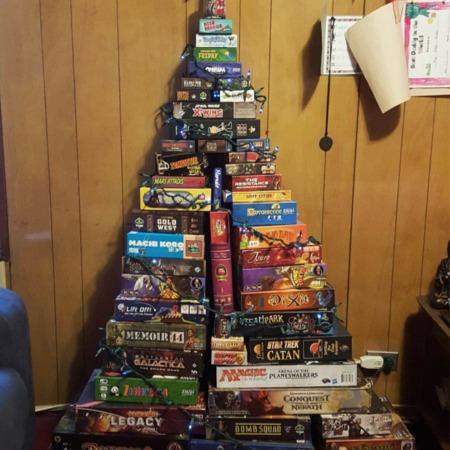 Arvore de Natal jogo de tabuleiro