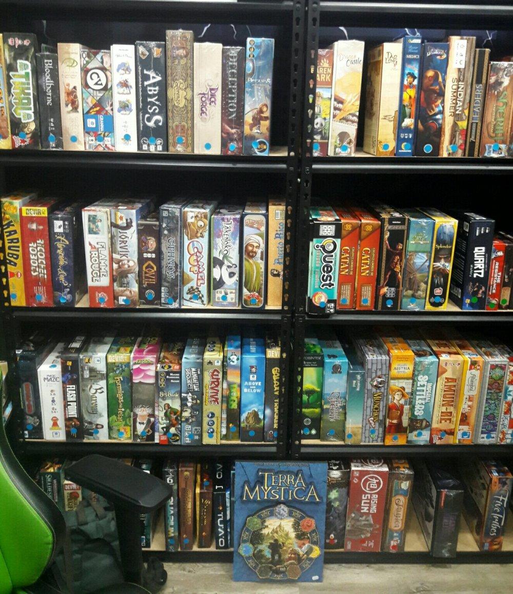 Catálogo da loja Pitta's Board Game