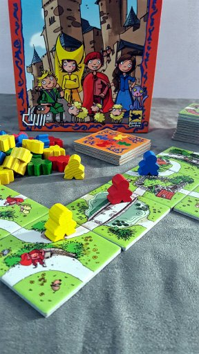 Jogo infantil My First Carcassonne