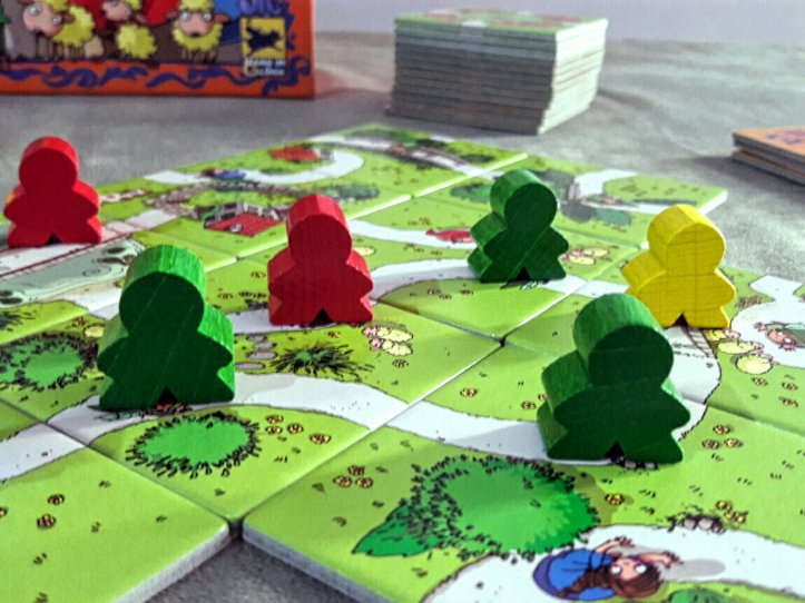 Peças jogo infantil My First Carcassonne