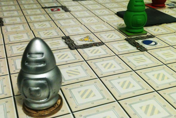 Jogo de tabuleiro Robo Ricochet