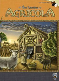 Caixa jogo de tabuleiro Agricola