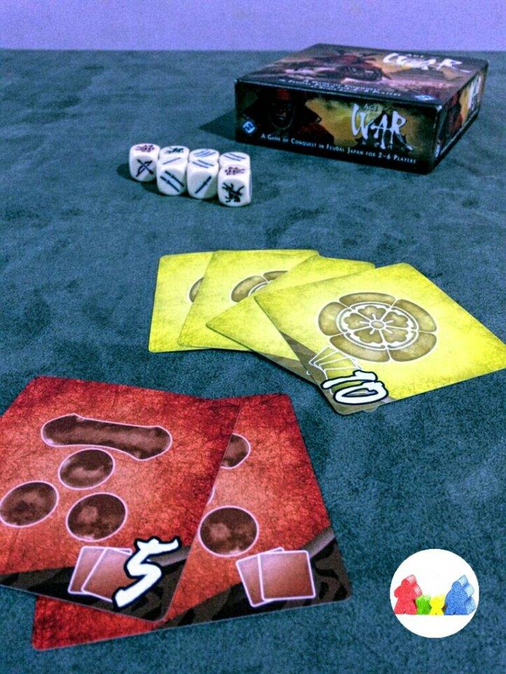 Conjuntos de castelos do jogo de tabuleiro Age of War