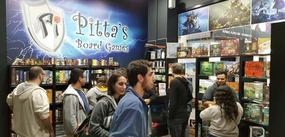 Loja de jogos Pitta's Board Games