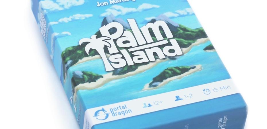 Jogo de cartas Palm Island