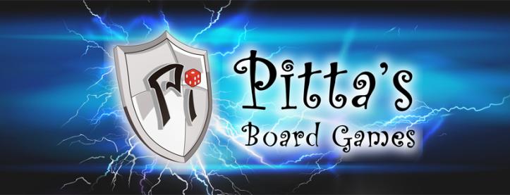Logo da loja Pitta's Board Games