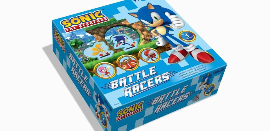 Vem ai Sonic the Hedgehog Battle Racers