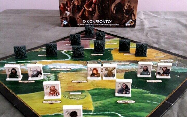 Análise Jogo de tabuleiro Senhor dos Anéis o confronto