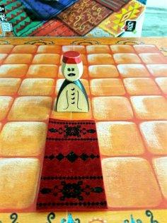 Venda tapetes e seja o mais rico em Marrakech