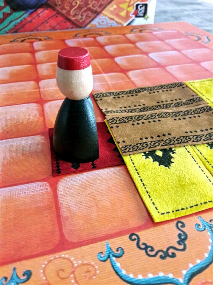 Camadas e mais camadas de tapetes