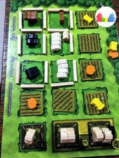 Sua fazenda prosperando no Agricola