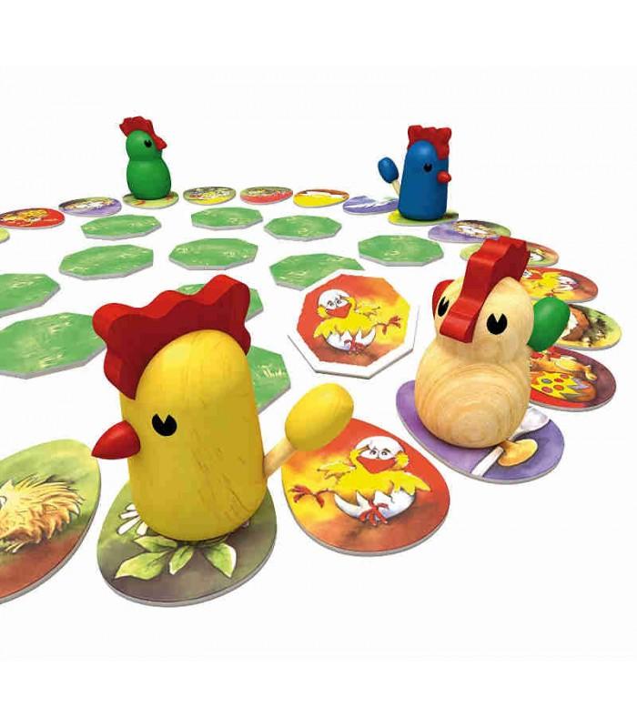 Jogo de tabuleiro Chicken Cha Cha Cha