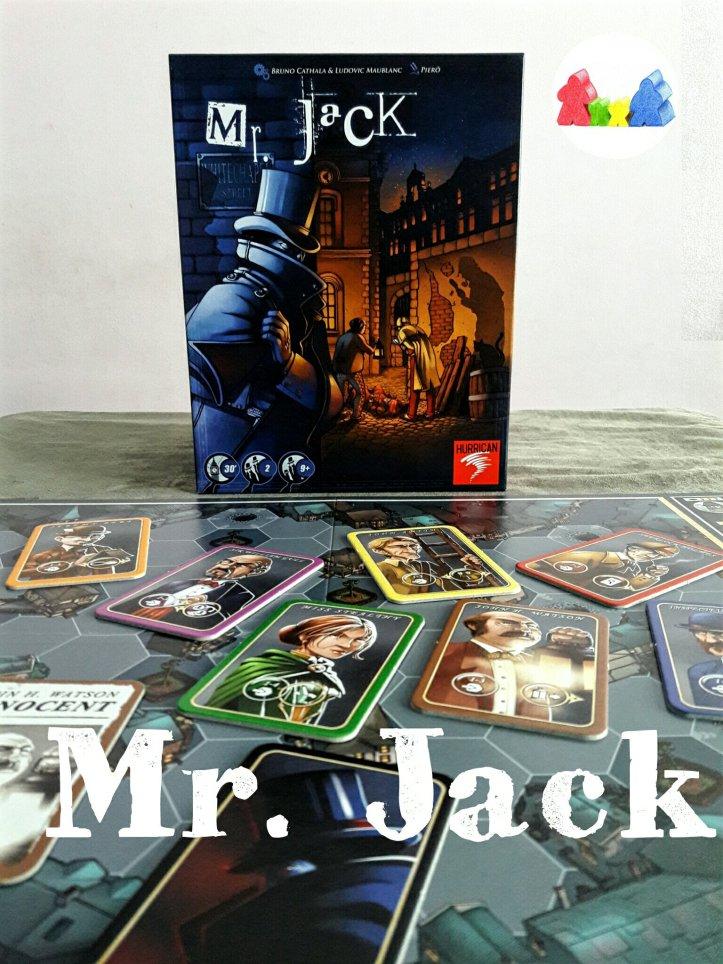 Jogo de tabuleiro Mr. Jack