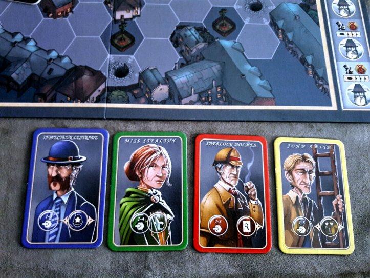 Personagens do jogo Mr. Jack