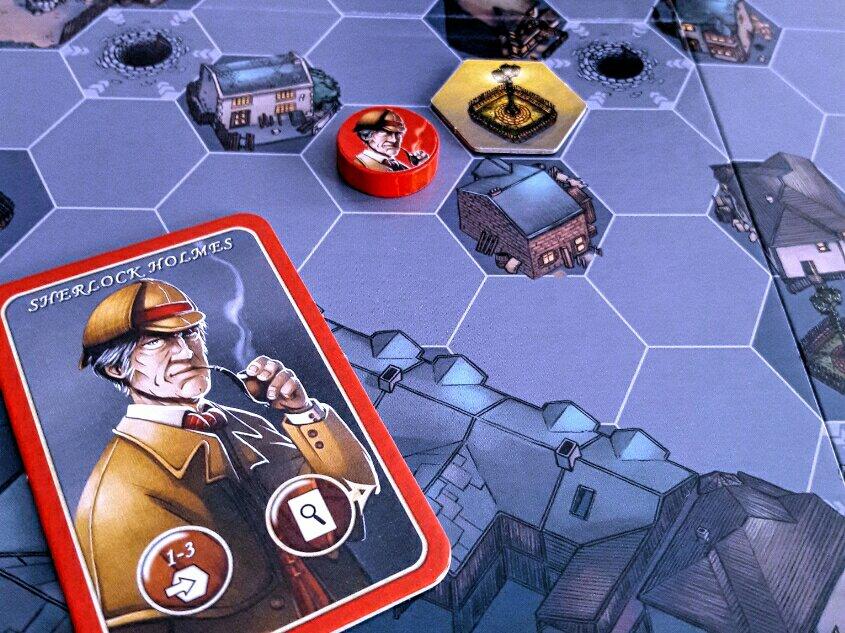 Sherlock Holmes no jogo Mr. Jack