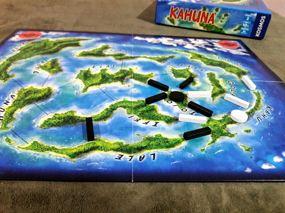 Tabuleiro jogo Kahuna