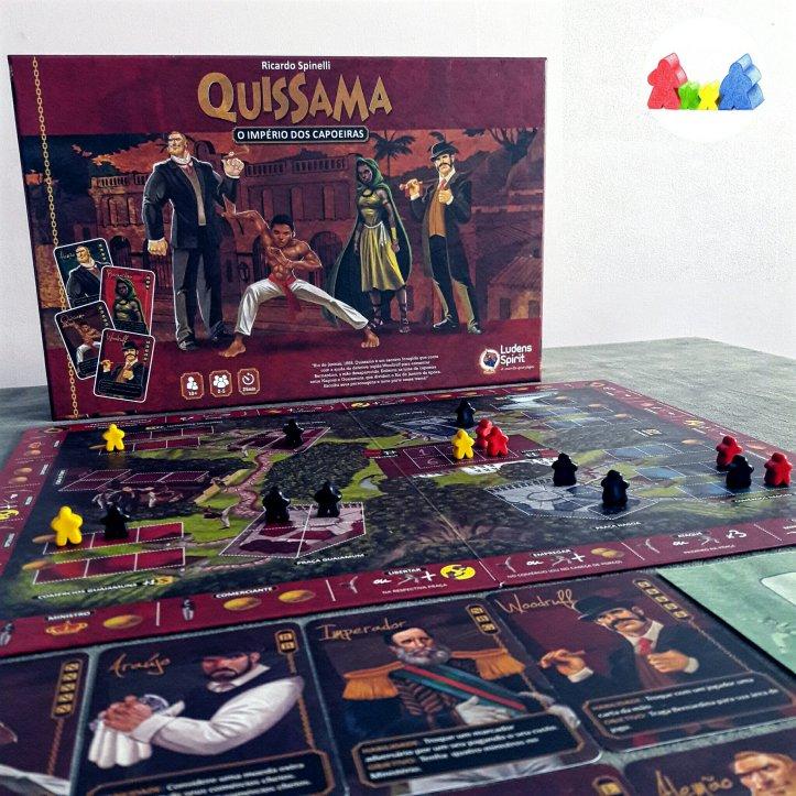 Jogo de tabuleiro brasileiro Quissama