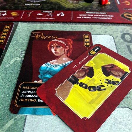 Princesa Isabel no jogo de tabuleiro Quissama