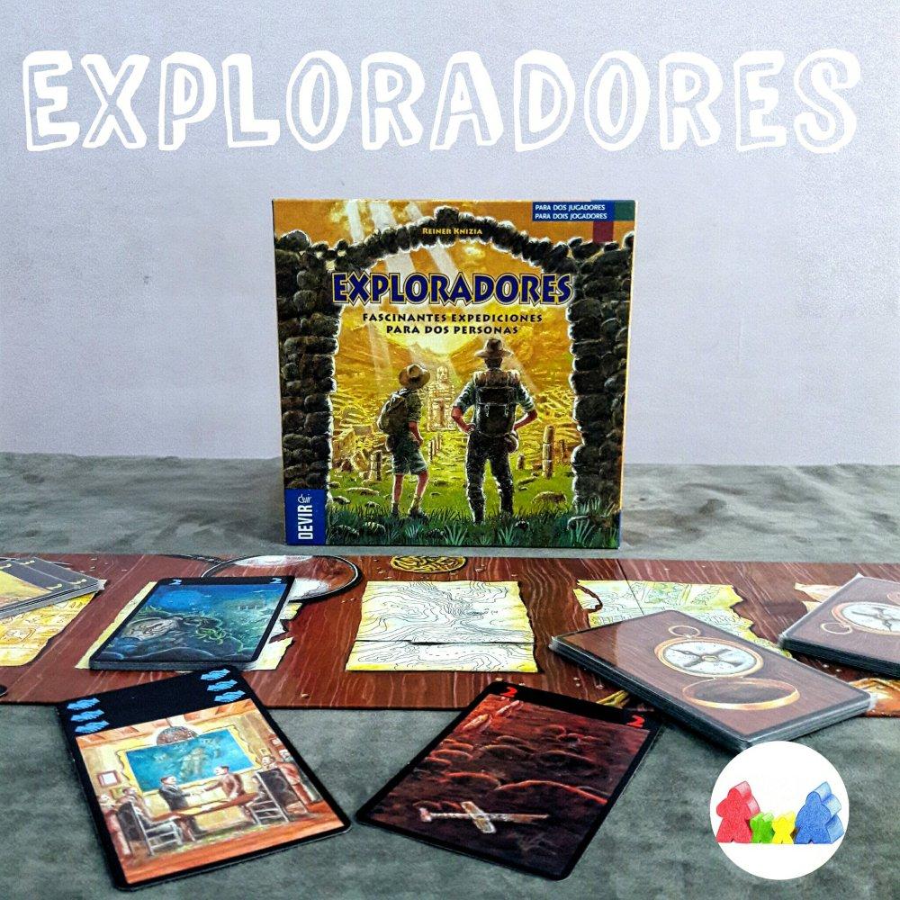Componentes jogo Exploradores