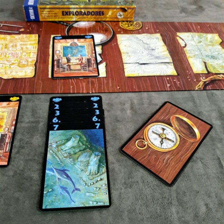 Cartas jogo Exploradores