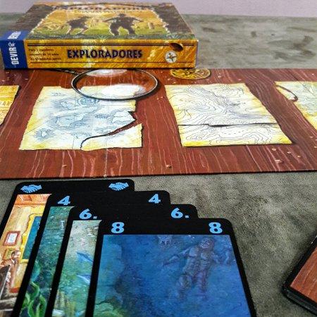 Expedição azul no jogo Exploradores