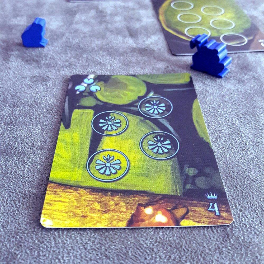 Vitória-Régia no jogo de tabuleiro Bullfrogs