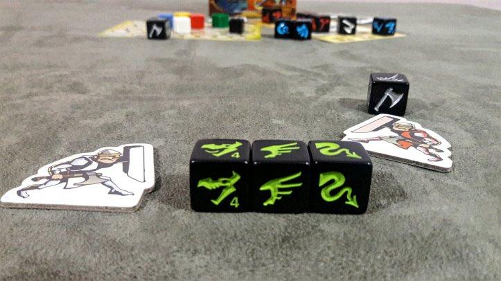 Dragão verde jogo de tabuleiro Dragon Slayer